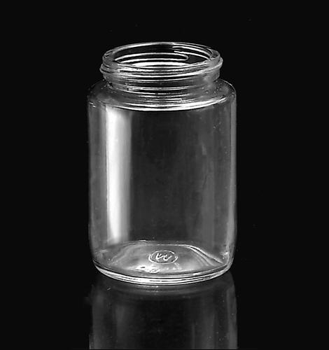 Pote de Vidro Cilíndrico